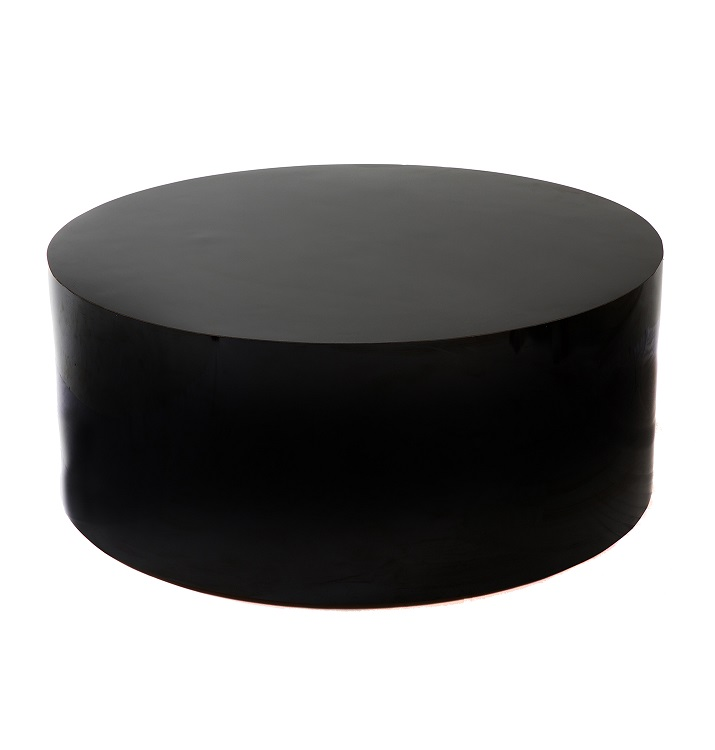 37'' Black Coffee Table
