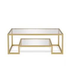 Gio Gold Coffee Table