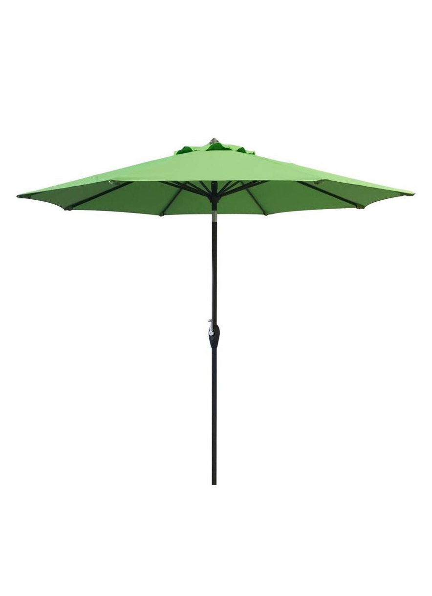 Green Outdoor Umbrella 9ft