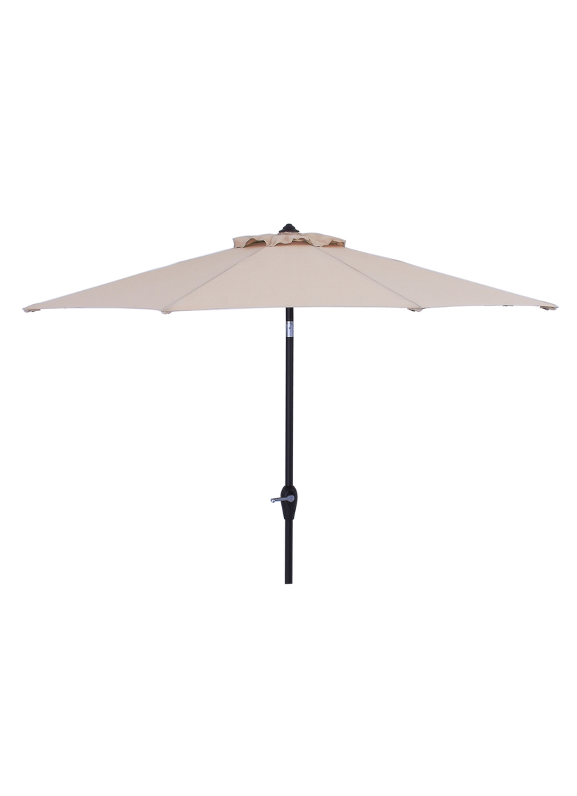 Tan Outdoor Umbrella 9ft