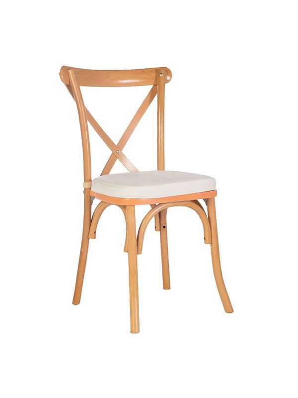 Natural French Country Chair