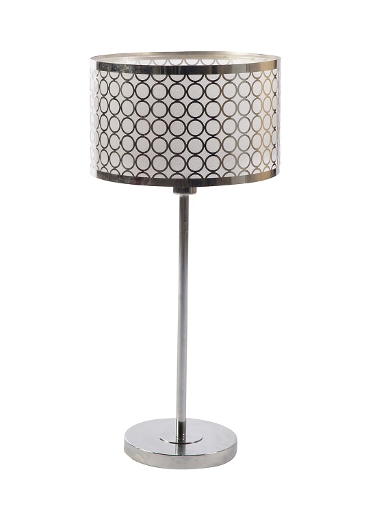 Silver Nuno Table Lamp