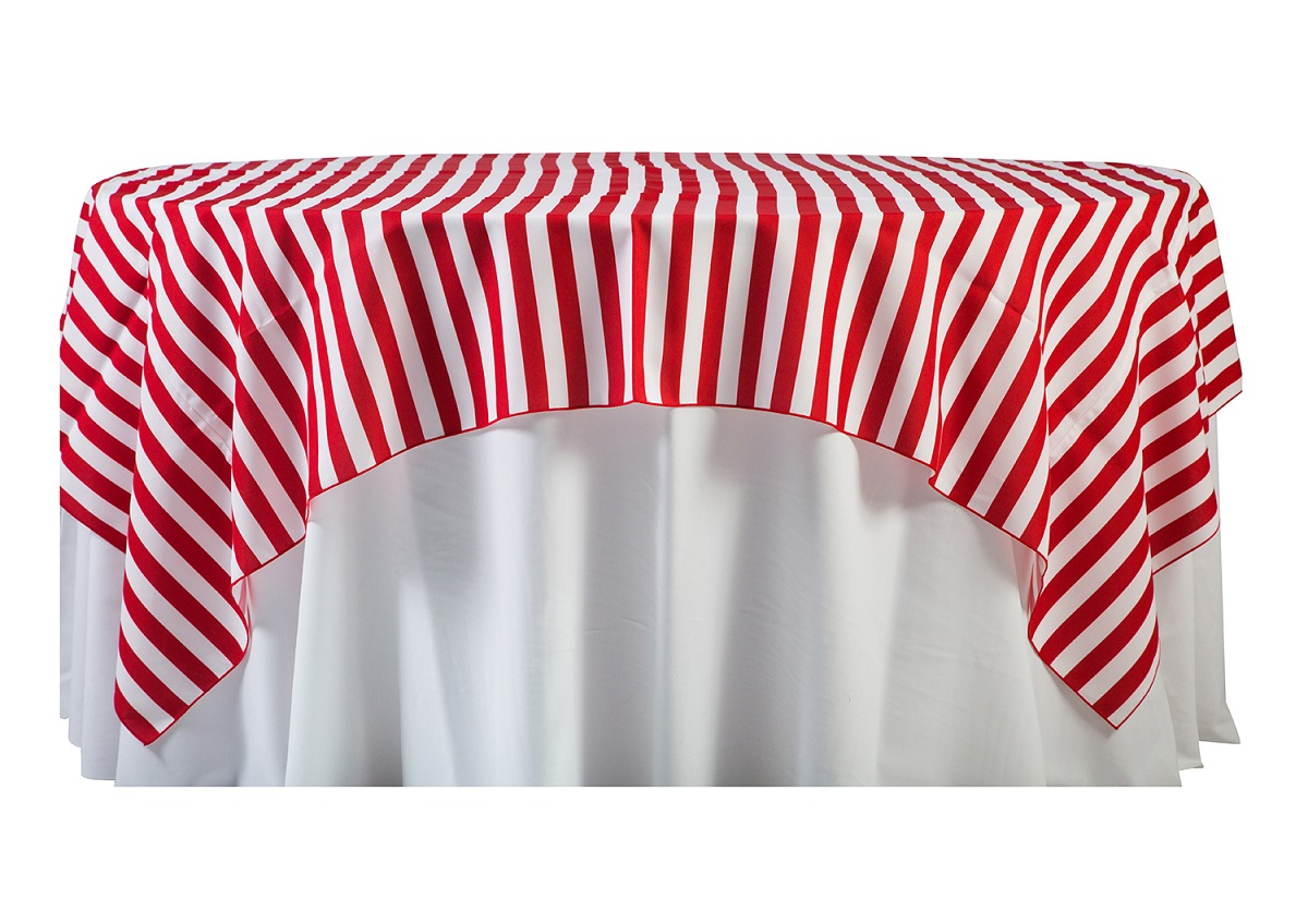84'' Red Cabana Stripe