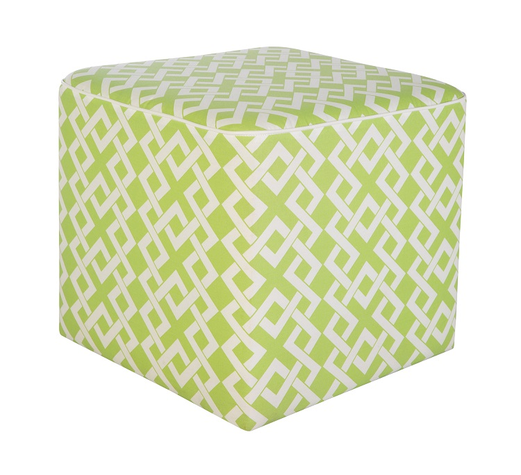 20'' x 20'' Lime Green Cube