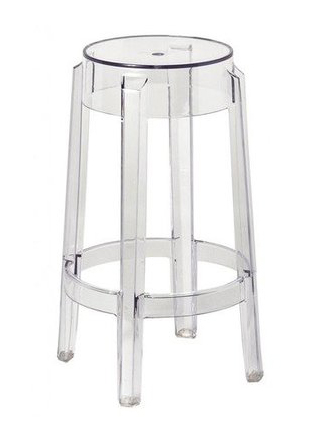 Acrylic Ghost Stool