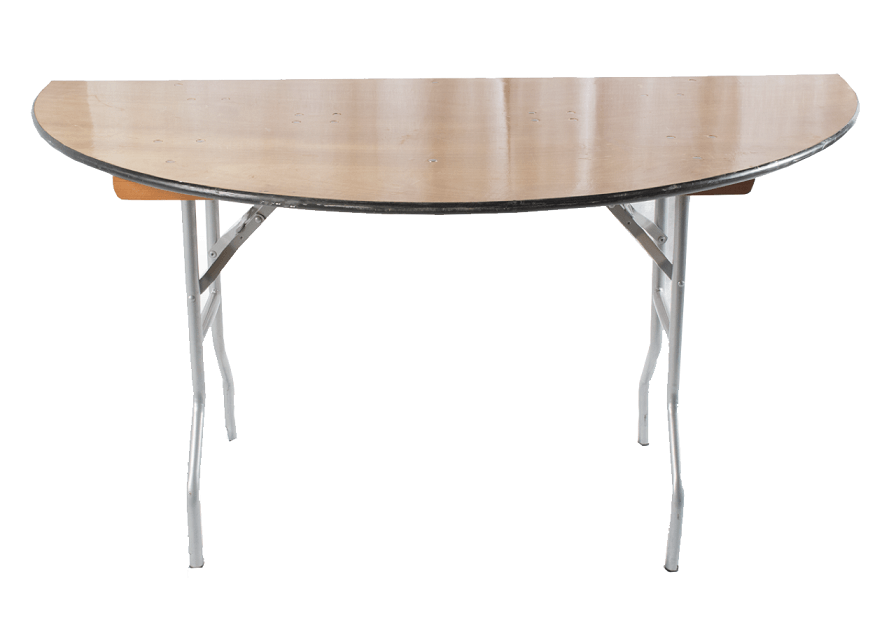 Half Moon 60'' Round Table